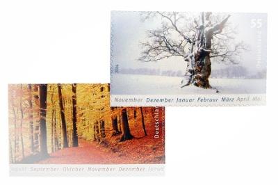 Herbstwinter, Herbst und Winter