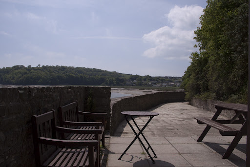 Dylan Thomas in Laugharne