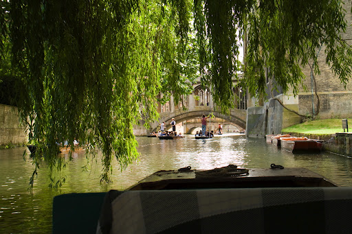Cambridge River Cam Punting