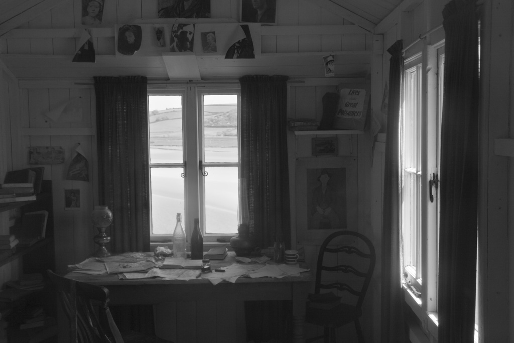 Dylan Thomas boathouse