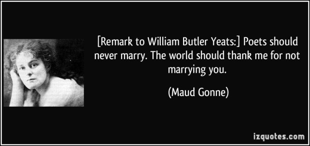 Maud Gonne and William Butler Yeats