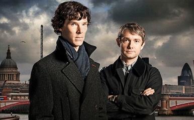 Sherlock - Cumberbatch Freeman