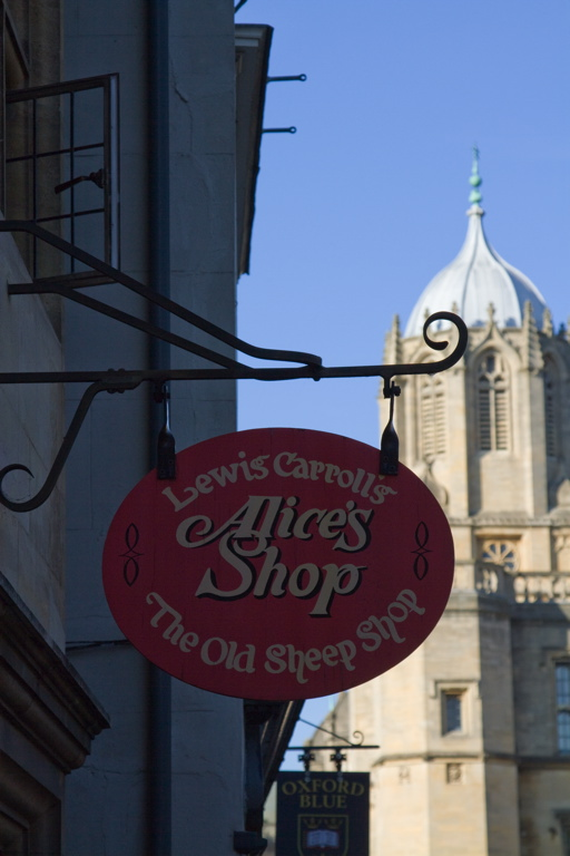 Oxford Alice's Shop
