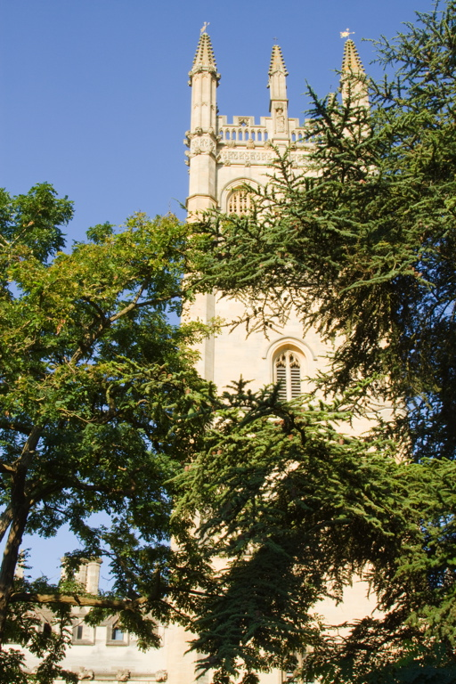 Oxford Magdalen College Tower