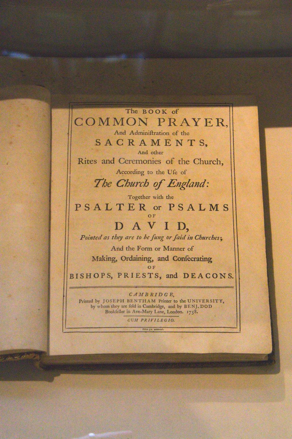 Cambridge Book of Common Prayer