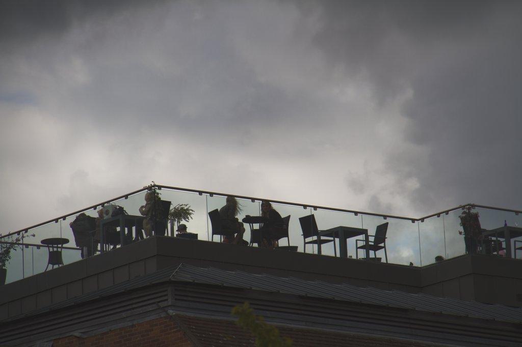 Cambridge Bridge Street Restaurant auf Dach