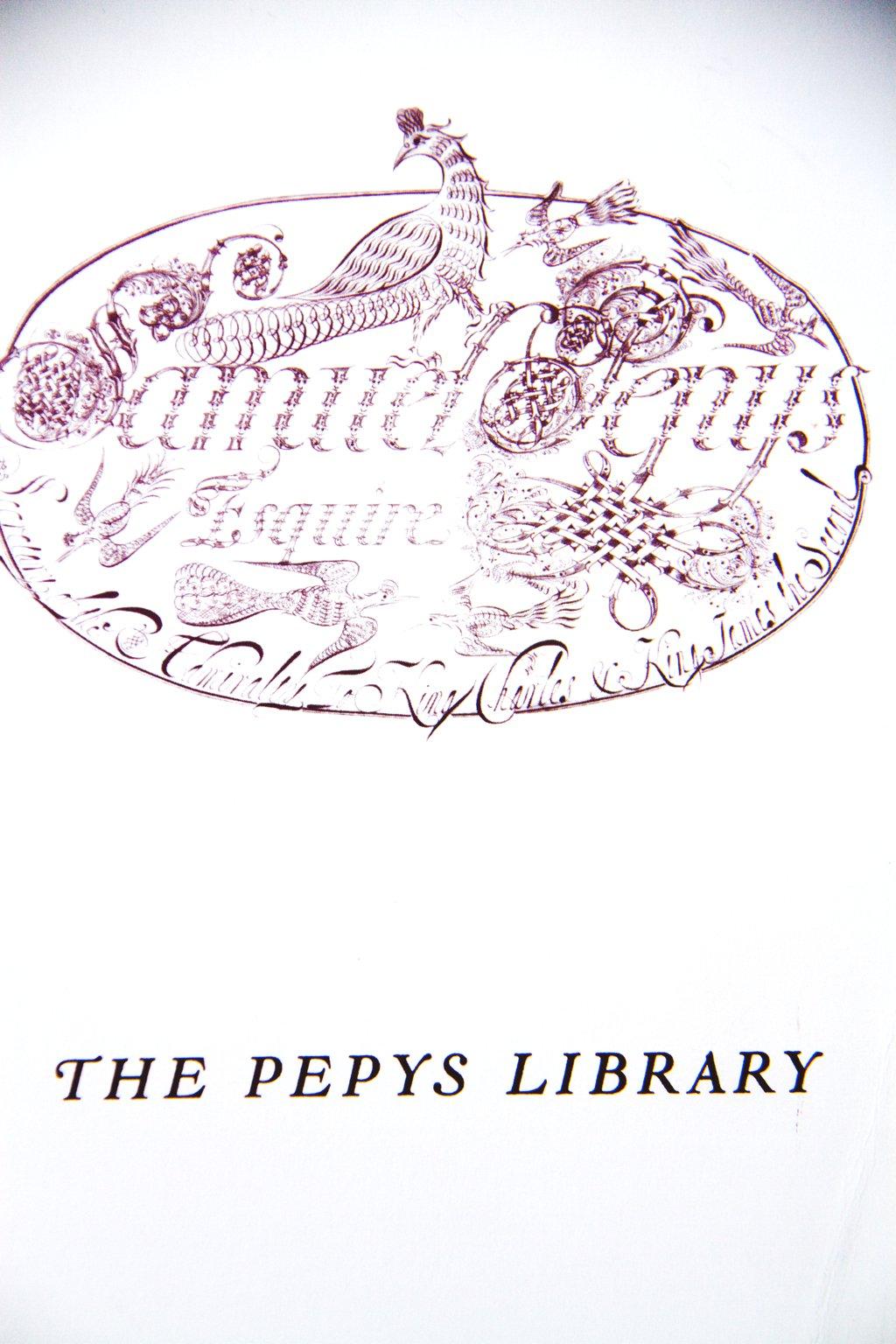 Cambridge Pepys Library Broschüre