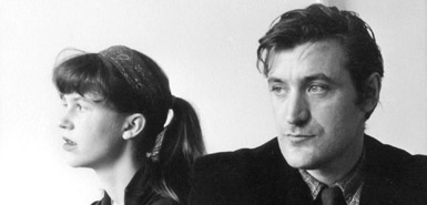 """Sylvia Plath and Ted Hughes"""
