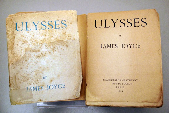 """James Joyce - Ulysses - 1924 Auflage"""
