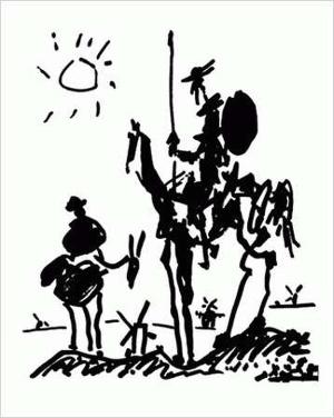 Picasso, Don Quichotte