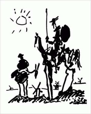 Picasso, Don Quichotte