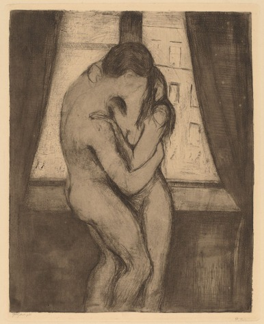 """Edvard Munch The Kiss"""