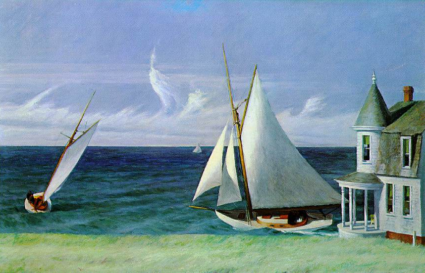 Edward Hopper - The Leeshore