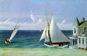 The Leeshore Edward Hopper