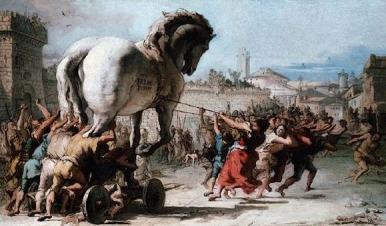 """""""Tiepolo - Trojanisches Pferd"""""""