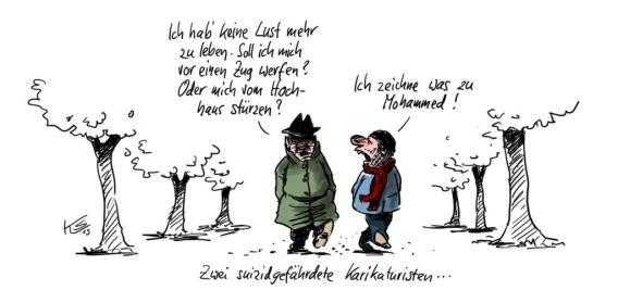 """""""Mohammed Karikaturen"""""""