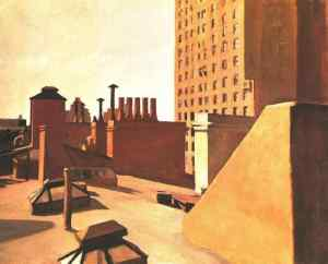 Edward Hopper - City Roofs