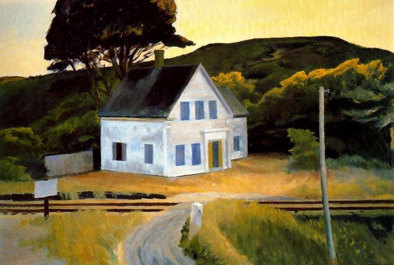 """Edward Hopper - Dauphinee House1"""