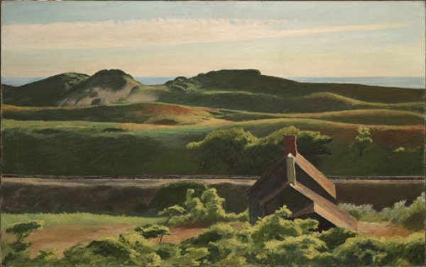 Edward Hopper - Hills, South Truro