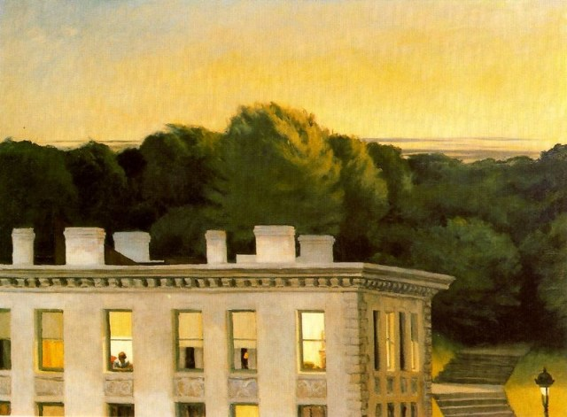 """Edward Hopper - House At Dusk"""