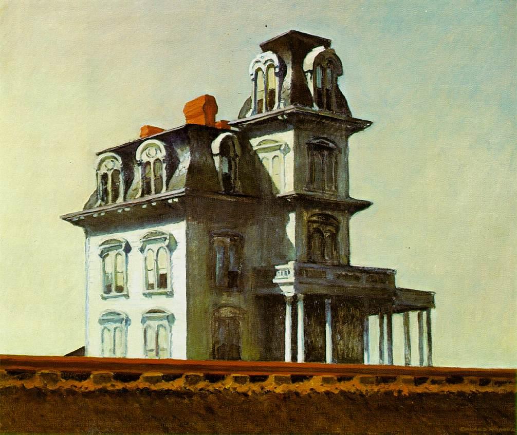 Edward Hopper - House by the Railroad