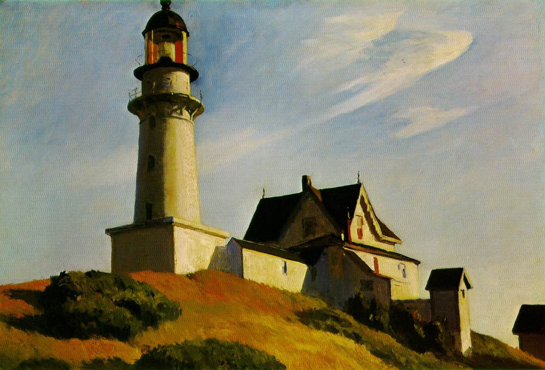 Edward Hopper - The Lighthouse at Two Lights