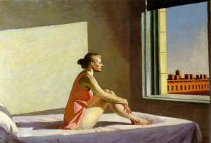 """Edward Hopper - Morning Sun"""