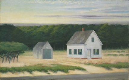 Edward Hopper - October on Cape Cod