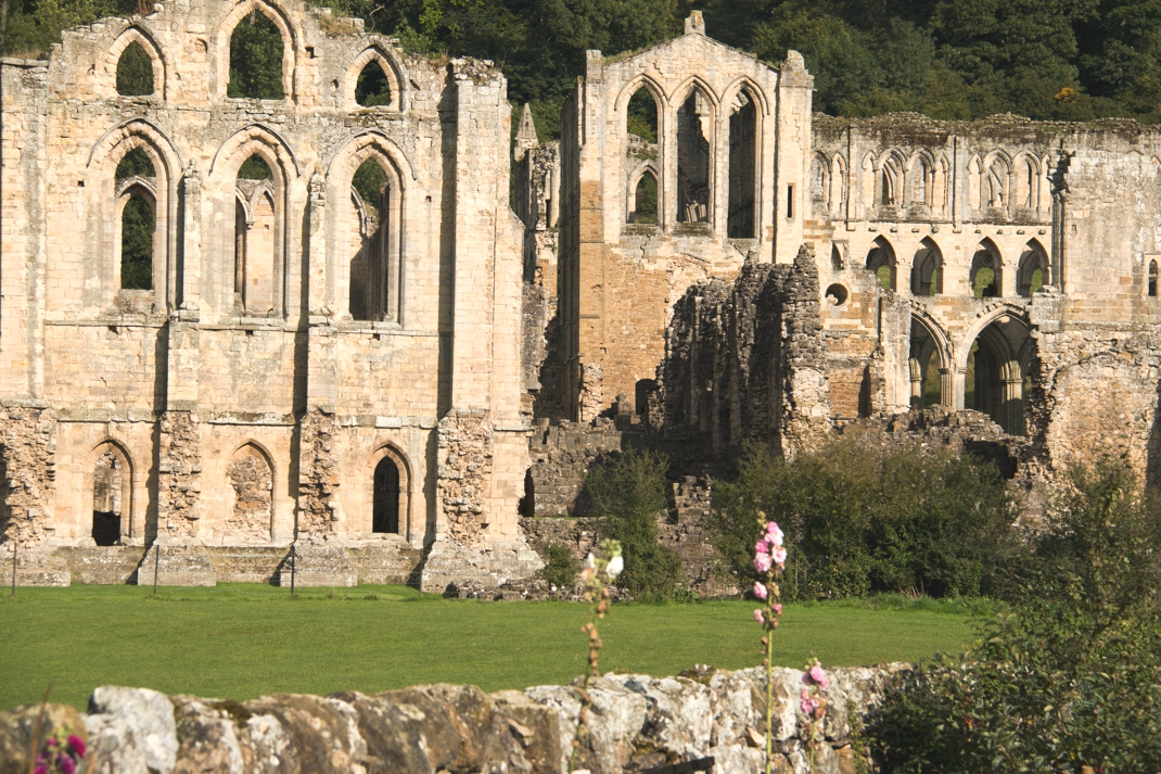 Yorkshire - Rievaulx Abbey - Whitby Abbey