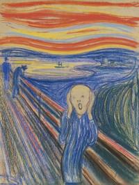 Der Schrei Edvard Munch