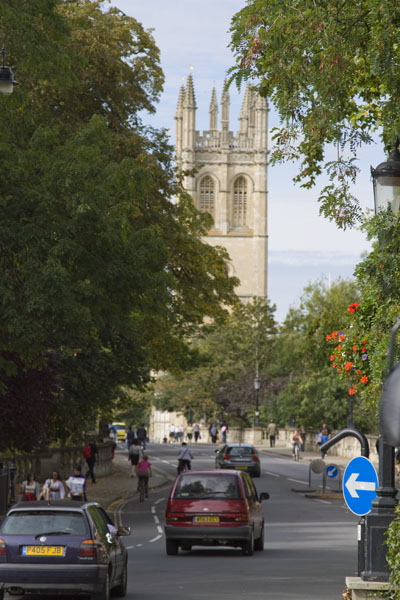 Oxford_Magdalen College Bell Tower