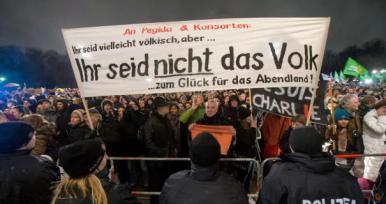 """Anti Pegida Demonstration"""