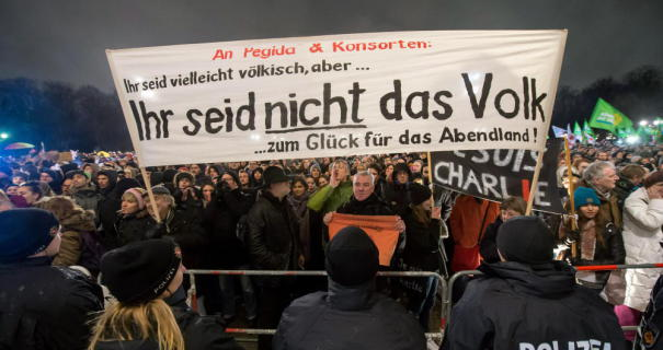 """Anti Pegida Demonstration"""