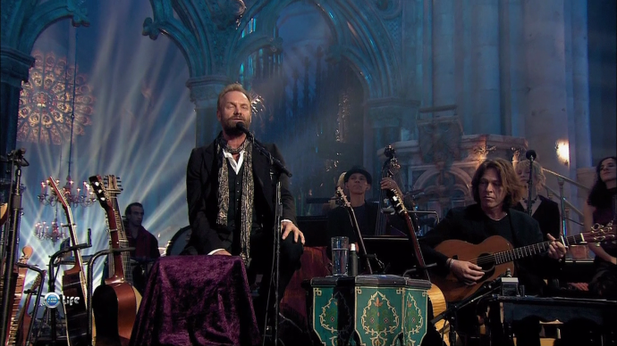 """""""Sting in Durham Cathedral"""""""