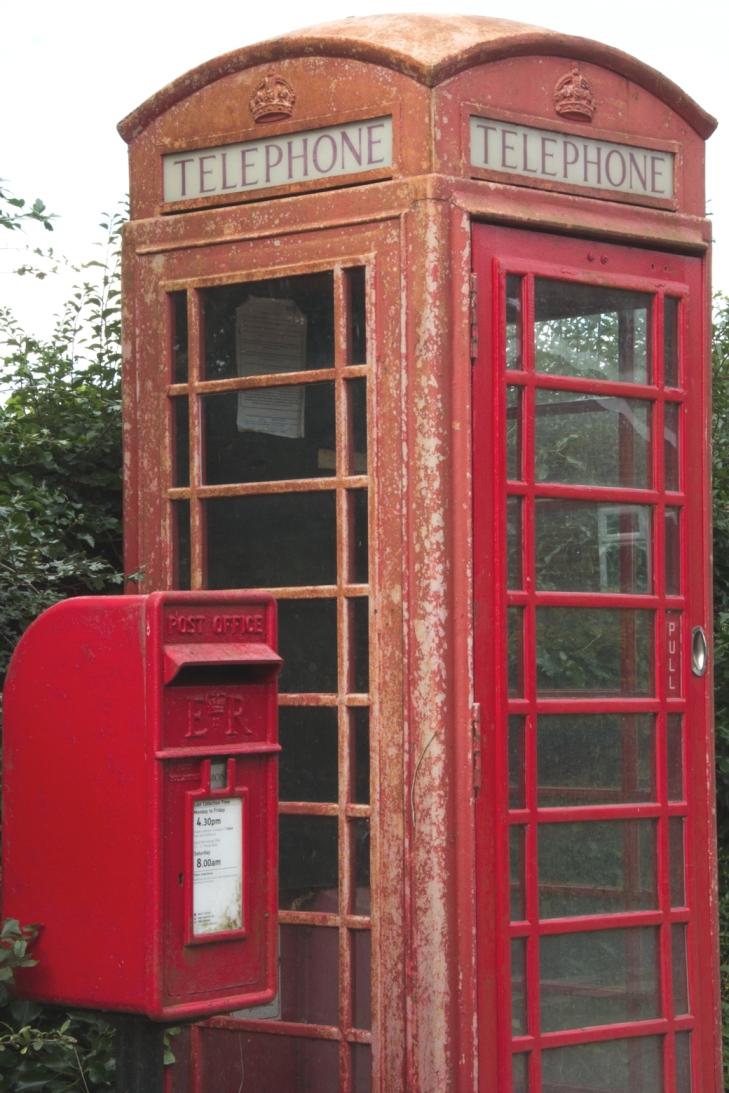 """""""Englische Telefonzelle"""""""