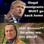 """Donald Trump - Russell Means"""