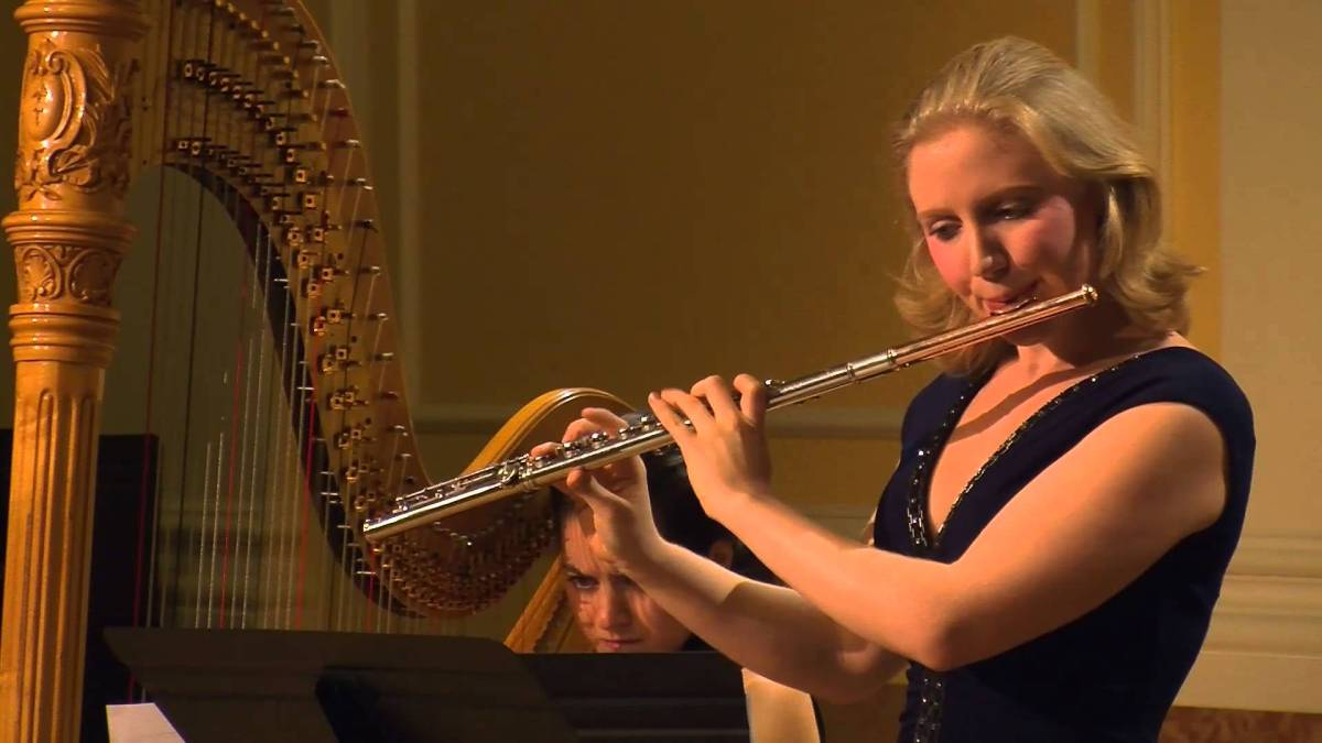Joseph Jongen – Danse Lente for Flute and Harp – Kate Lemmon,flute