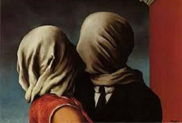 Rene Magritte - Les Amants