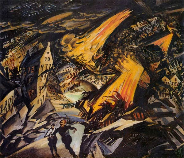 Ludwig Meidner Apokalyptische_Landschaft_1912