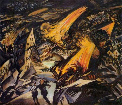 Ludwig Meidner - Apokalyptische_Landschaft_1912
