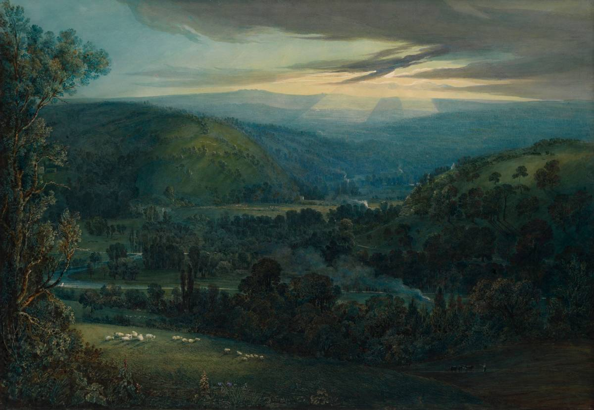 William Turner (1789-1862) - Dawn in the Valleys of Devon, 1832