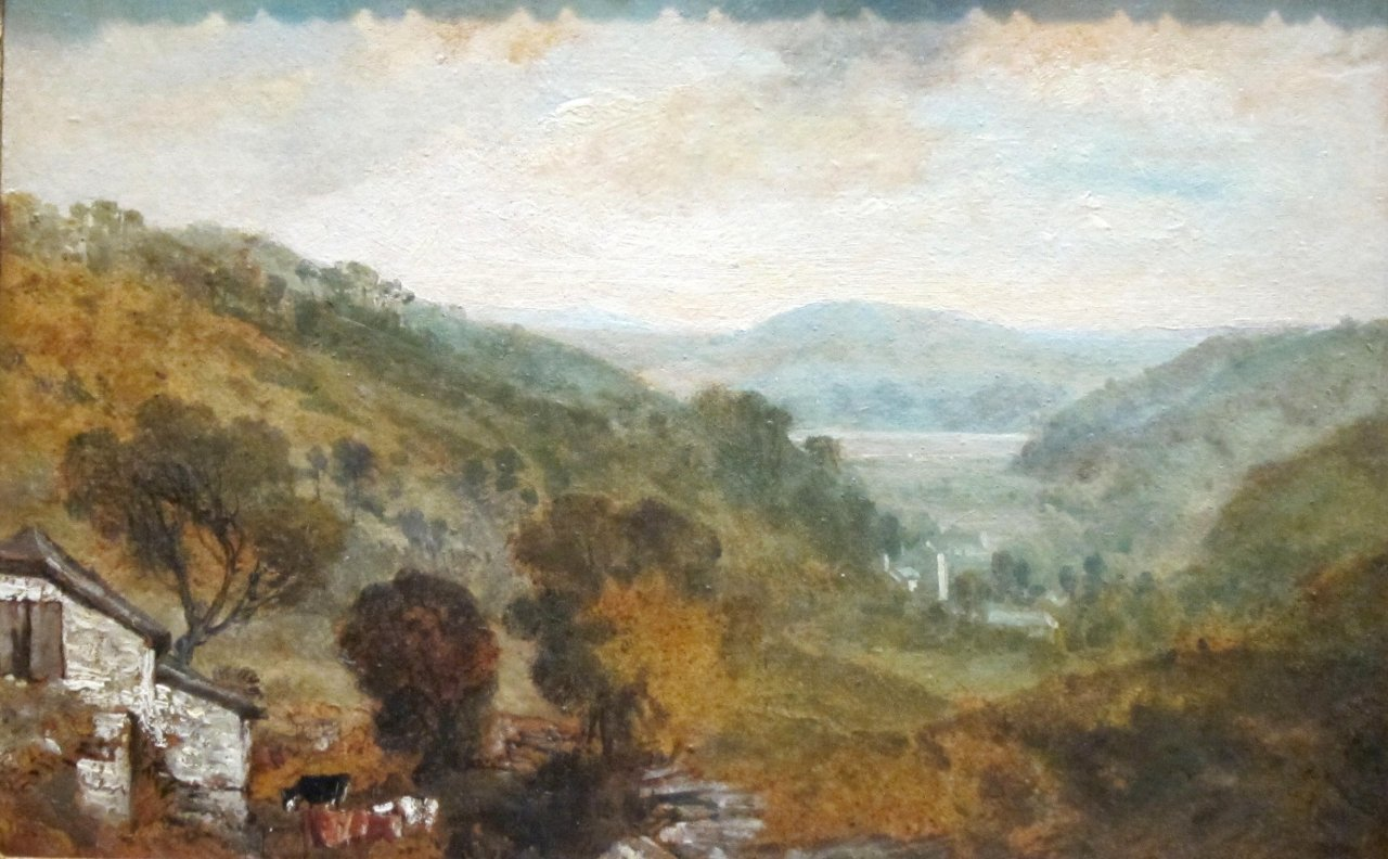 Joseph Mallord William Turner (1789-1862) - View in Devonshire