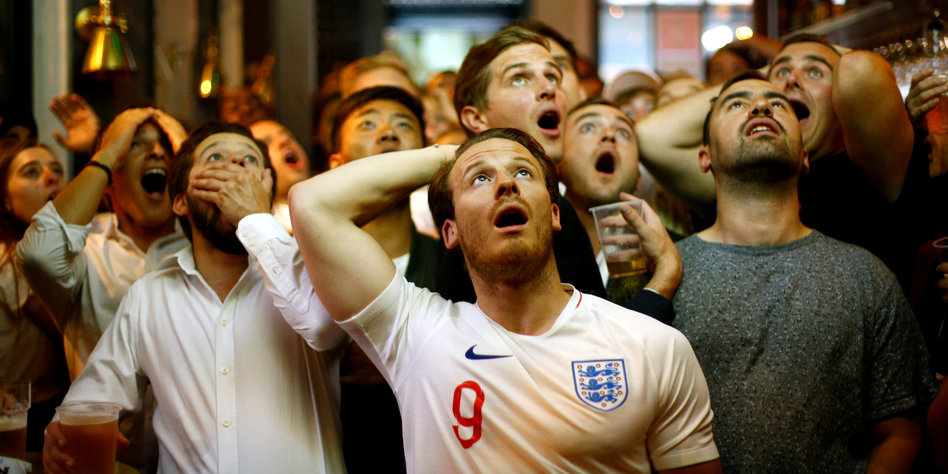 Football`s not coming home – An Elegy (in flat minor)