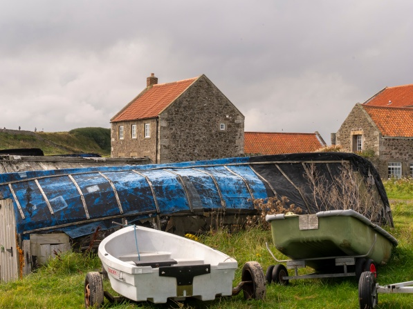Holy island Lindisfarne