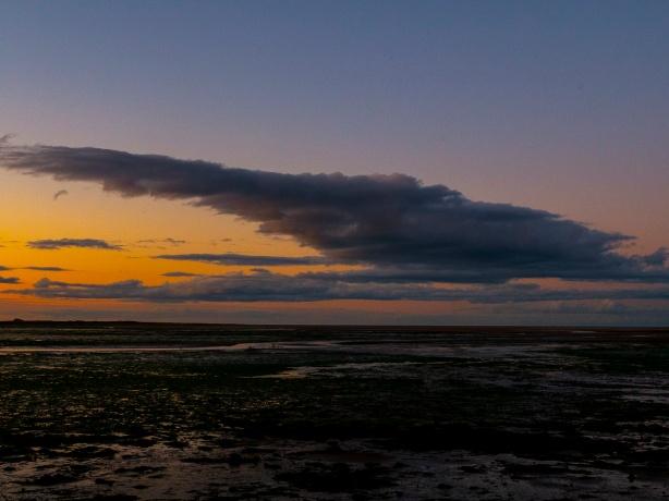 Sunset in Northumberland