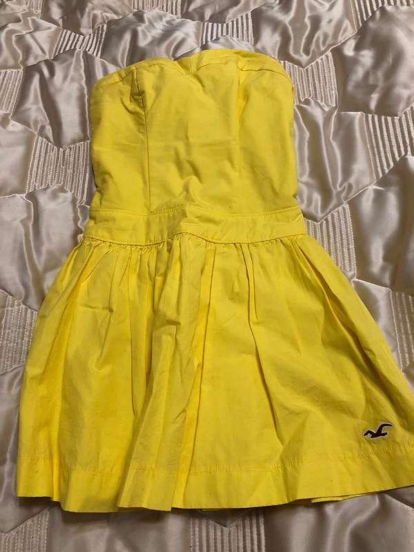 Sommerkleid,  gelb