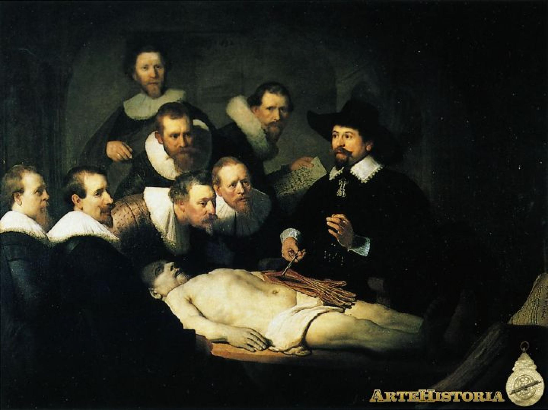 Rembrandt - Die Anatomie des Dr. Tulp